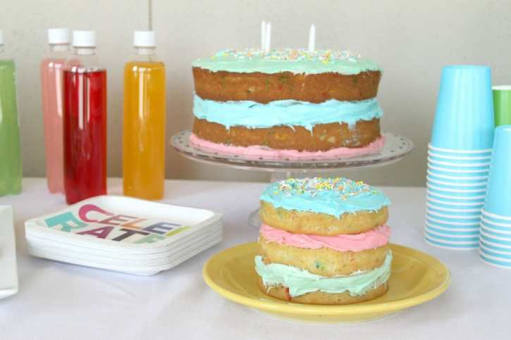 naked birthday cake