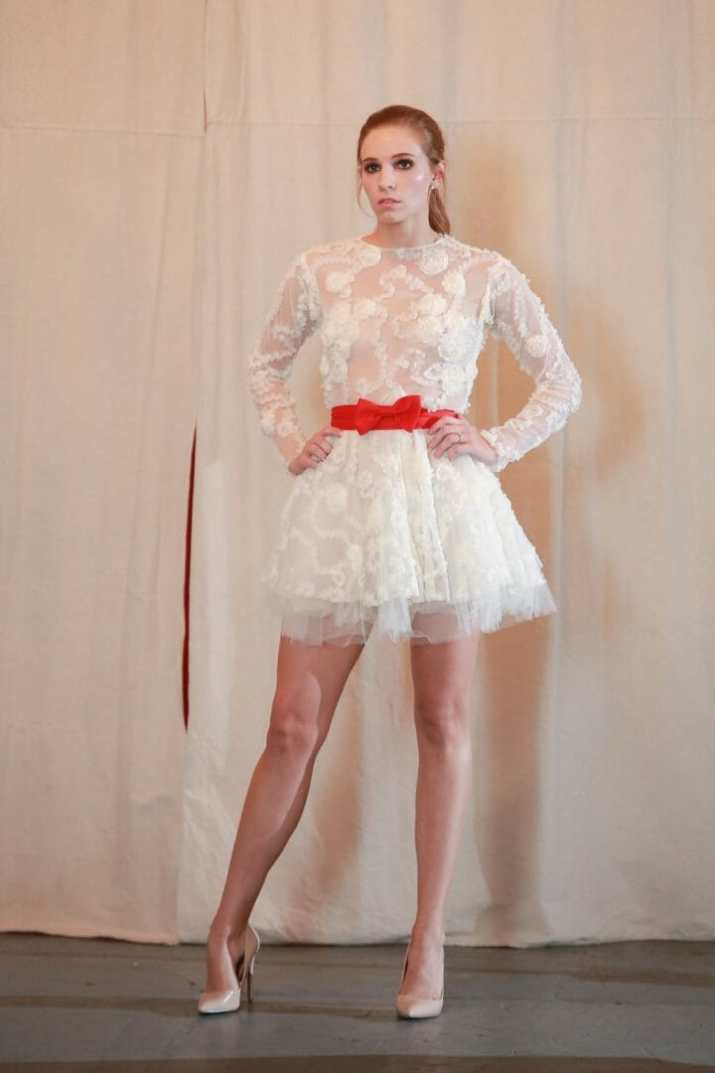 leighton w couture lace dress