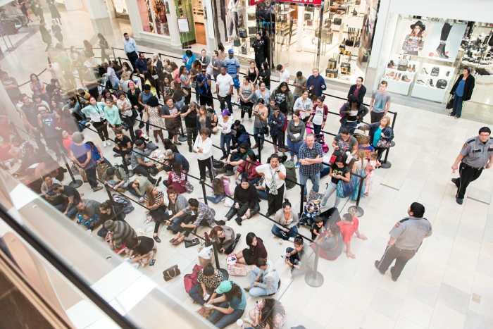 H&M grand opening