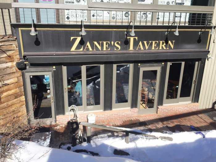 Zane's Tavern Aspen