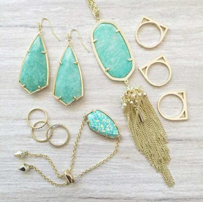 kendra scott turquoise jewelry