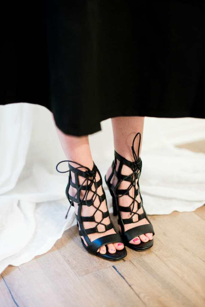 laceup heels