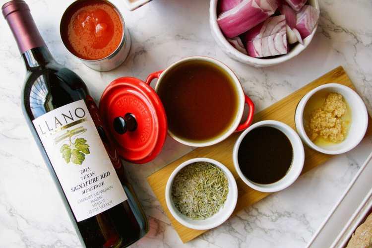slow cooker red wine brisket recipe