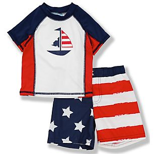 boys swimwear set