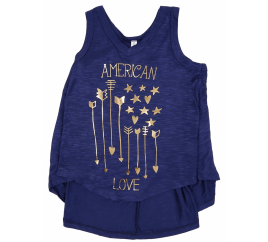 girls american tank top