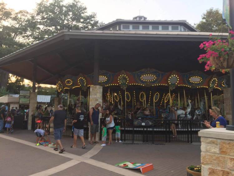 San Antonio zoo carousel