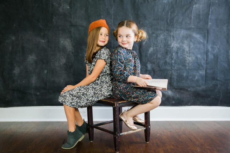 Little Girls Back-To-School Style With Frankie & Fern