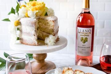 Rosé Cake Recipe