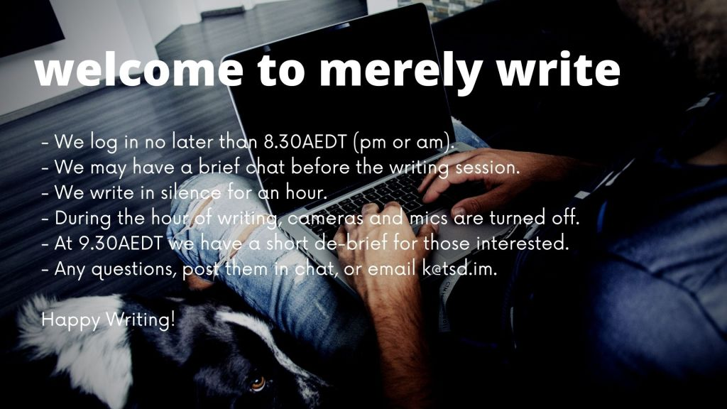 merely write - writing group