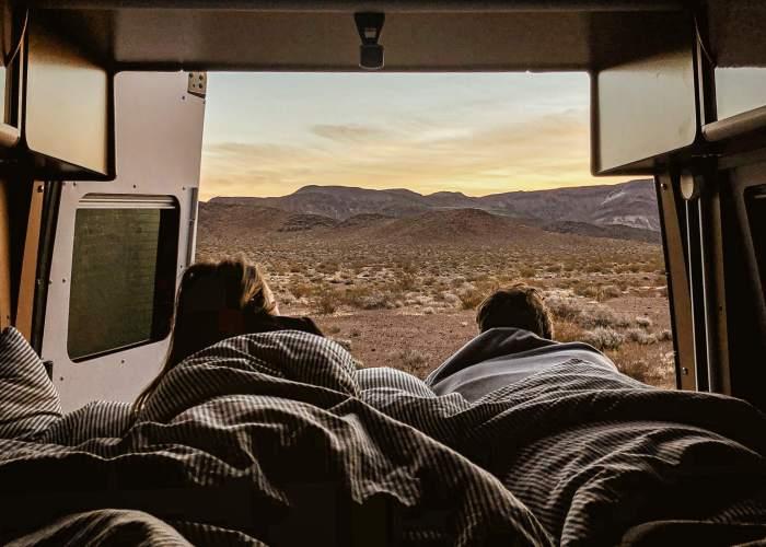 Réveil dans le désert