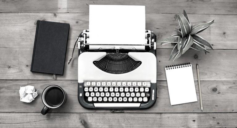 Schreibmaschine Stilleben