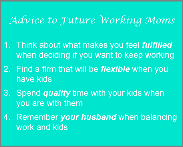 Working Mom Tips