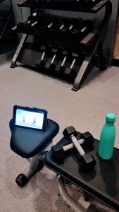 TIU Workout Setup
