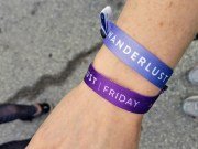Wanderlust wristbands