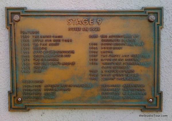 theStudioTour.com - 20th Century Fox Studios - Stage 09