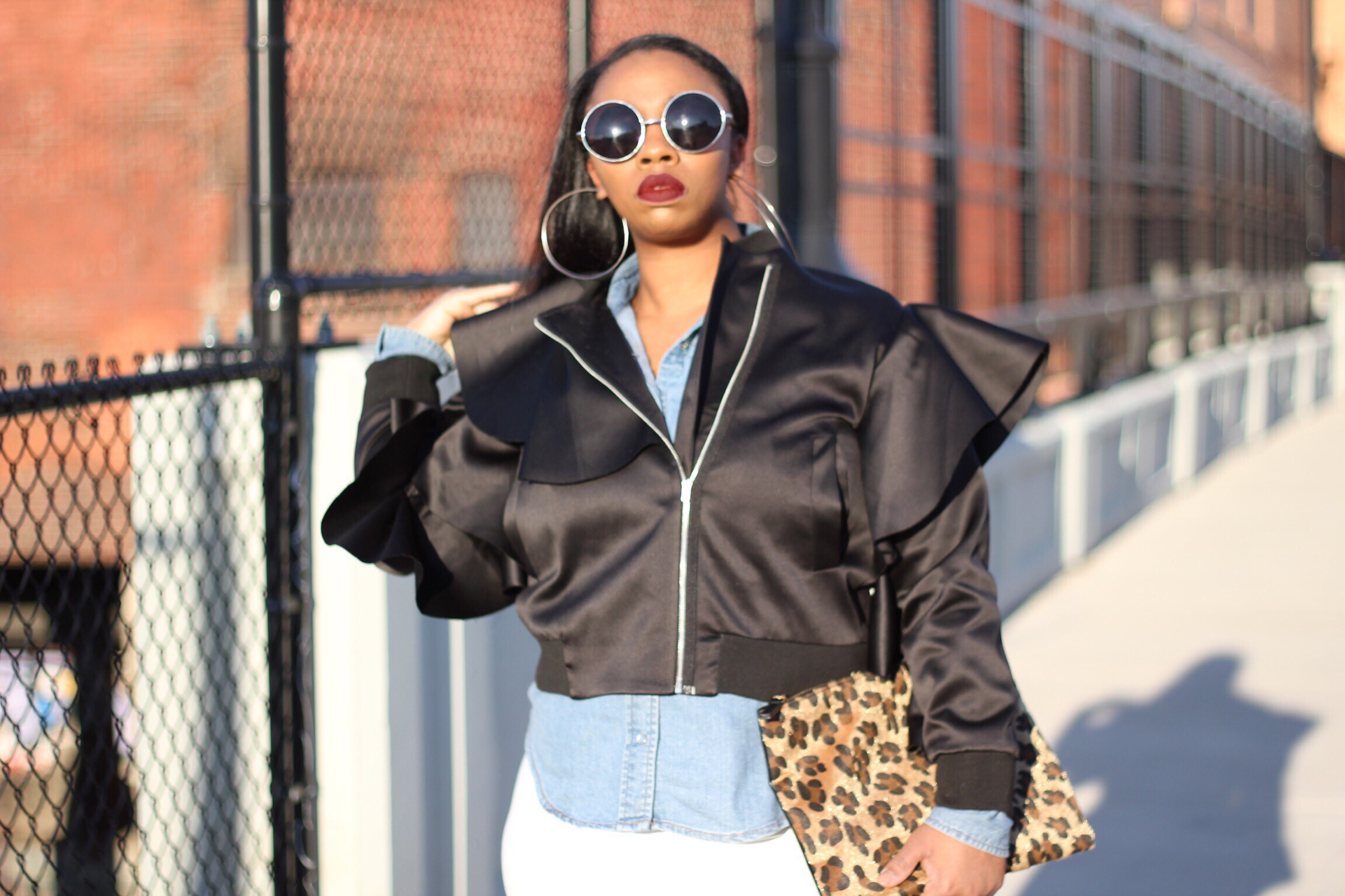 img_8547 The Asos Ruffled Bomber Asos Daniel Wellington eBay Fashion Love 21 OOTD shopping Styling Thrifting Uncategorized