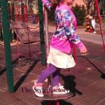 Bomber Jacket i brzoskwiniowa sukienka