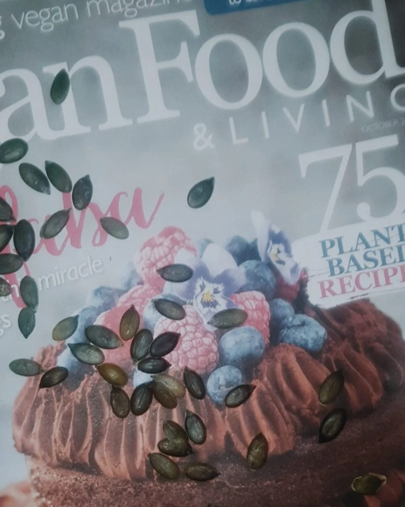 Vegan diet magazine