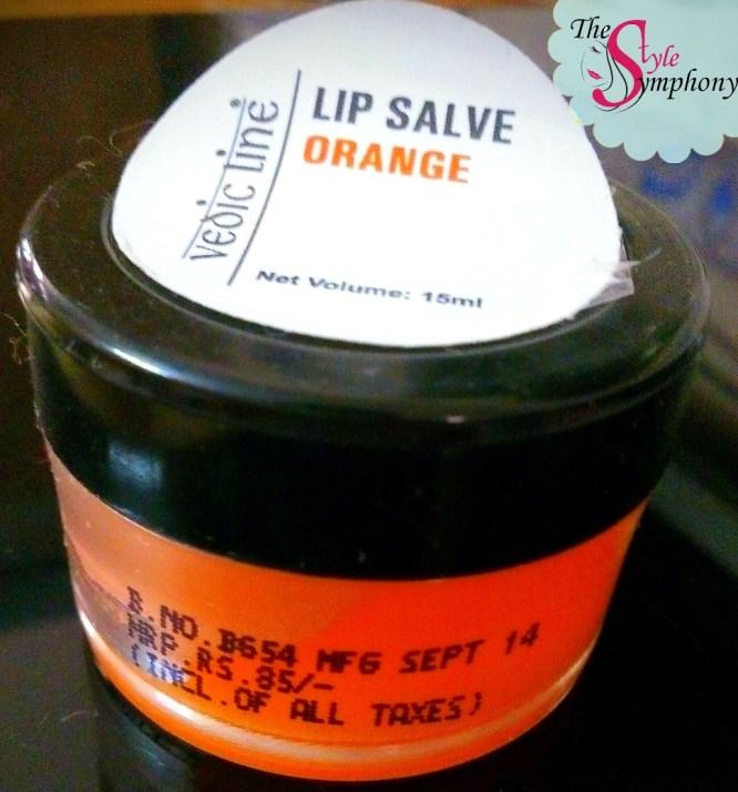 Vedic Line Lip Salve Orange