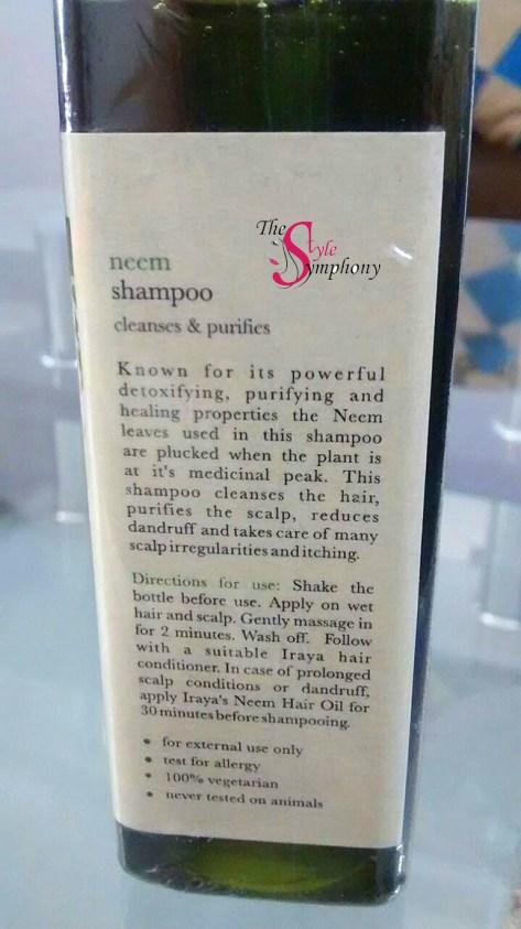Iraya Neem Shampoo