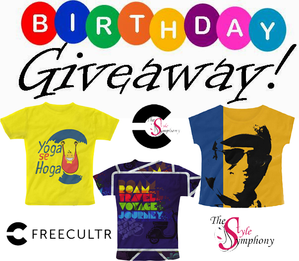 The Style Symphony Freecultr Birthday Giveaway