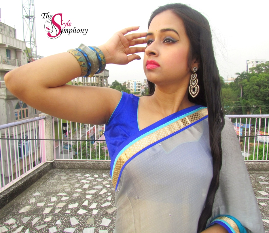 Saree— the coolest attire with Triveni Ethnics!