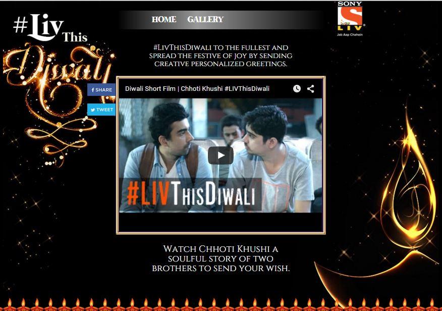 live this Diwali SONY LIV