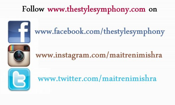 follow on social media the style symphony
