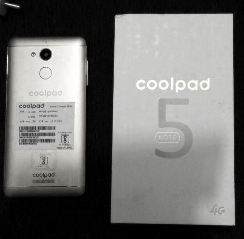 Coolpad Note 5 the style symphony