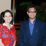 Devesh Purohit with Anupama Chopra happy birthday the style symphony