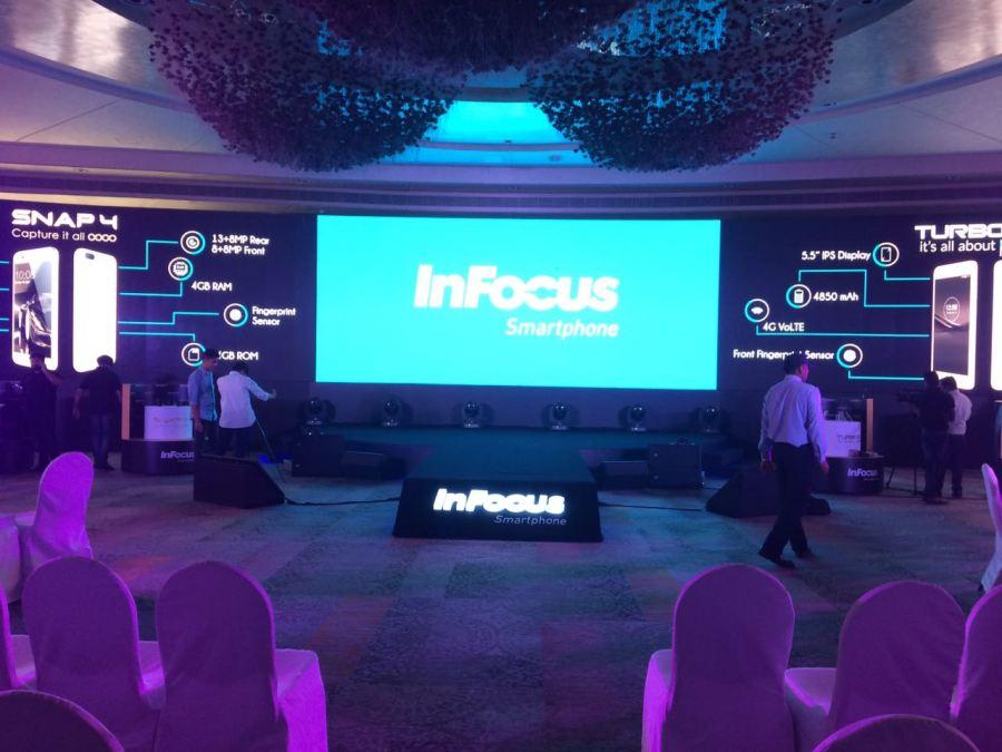 InFocus Snap 4 & Turbo 5 + launch