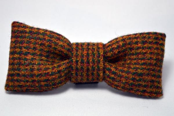 Harris Tweed Dog Bow Tie The Stylish Dog Company