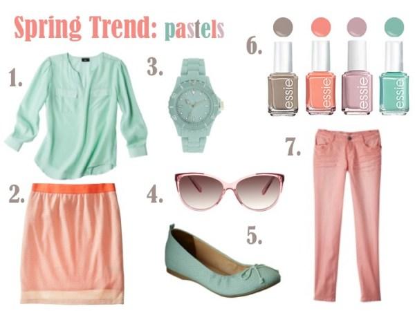 Spring Trend Pastels