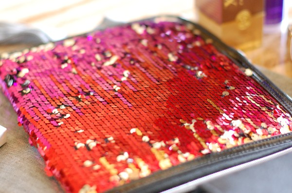 sequin ipad case