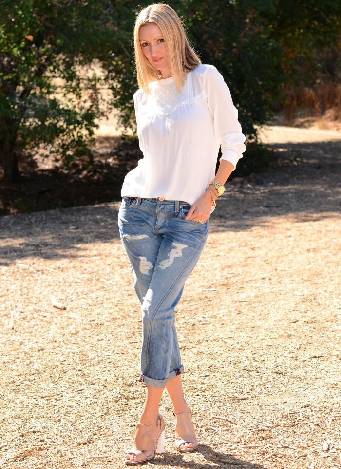 Level 99 SJP Cropped Twist Seam Cristal Jeans