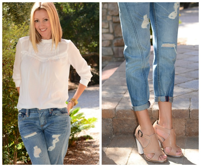 Sarah Jessica Parker Twist Seam Jeans