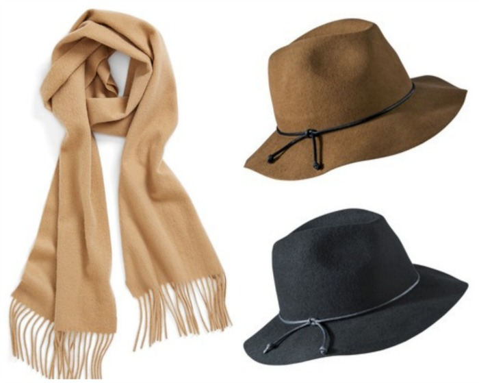 hat & scarf