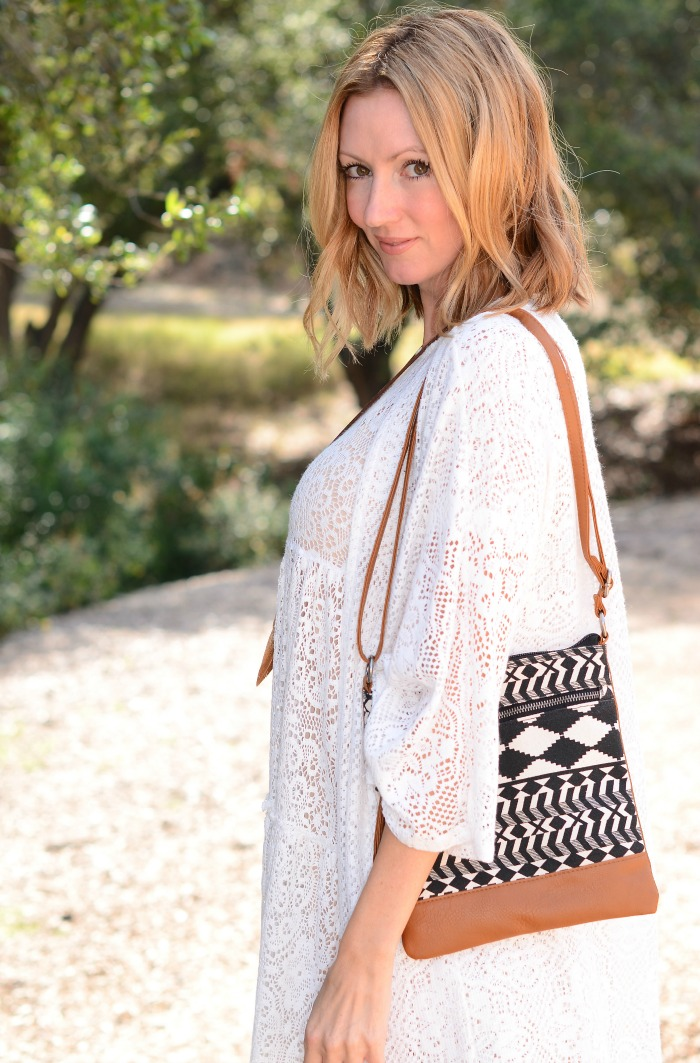 Tribal Printed Crossbody