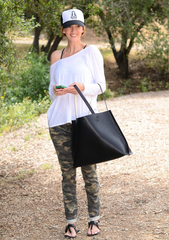 Kate Hudson Switch Back Tee