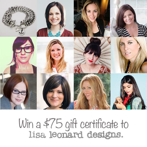 Lisa Leonard Giveaway