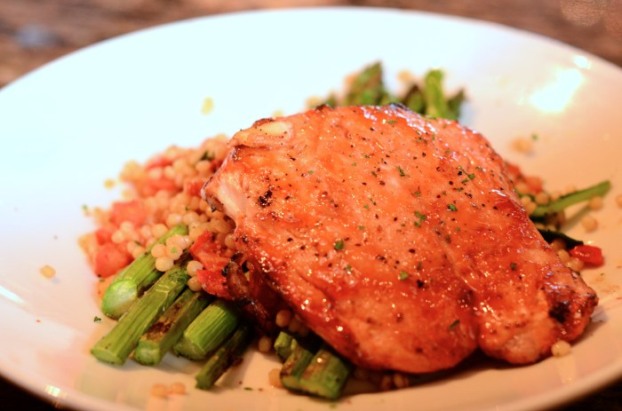 BJ's Cherry Chipotle Salmon