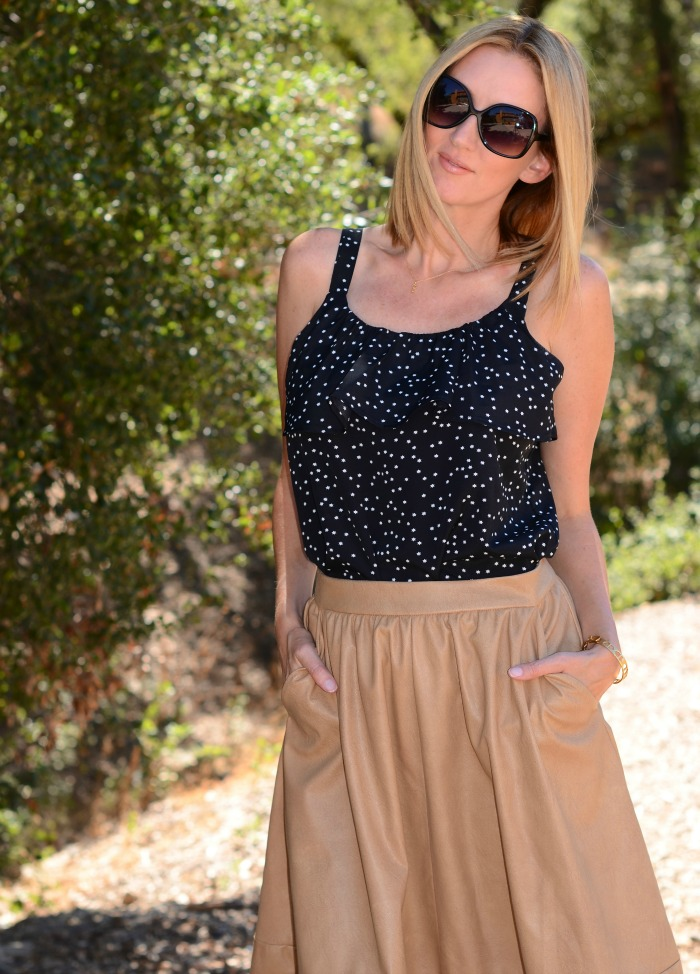 Ruffled Star Camisole