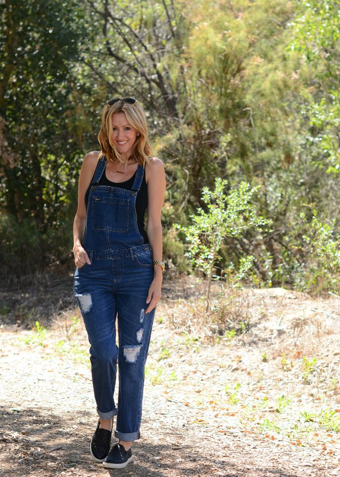 Justfab Denim Overalls
