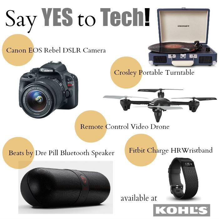Kohl's #yestotech