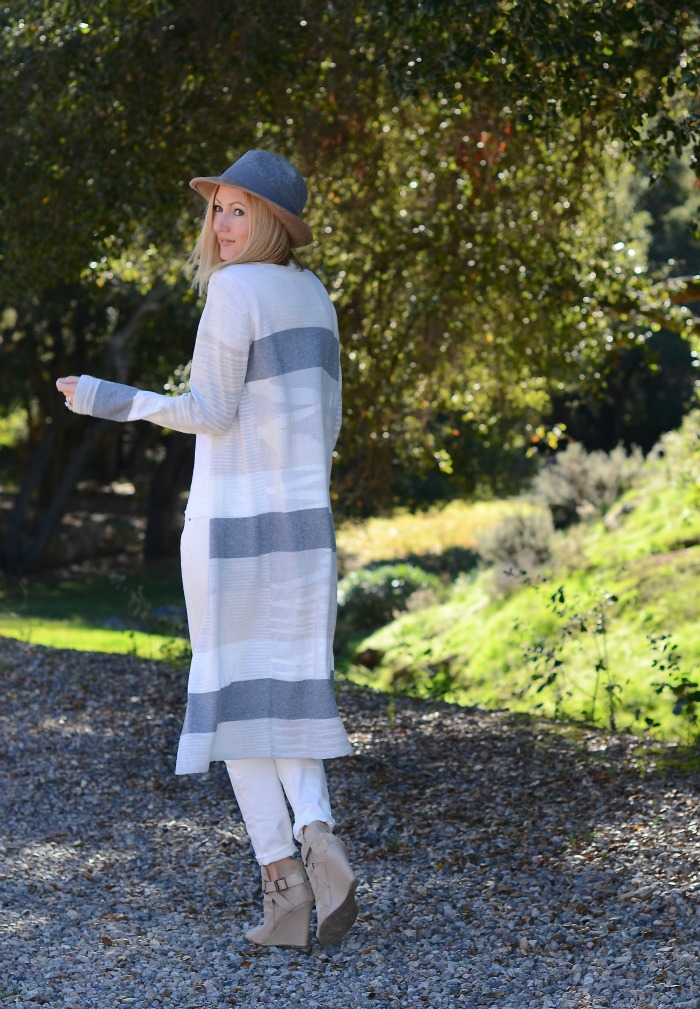 CAbi Striped Sweater