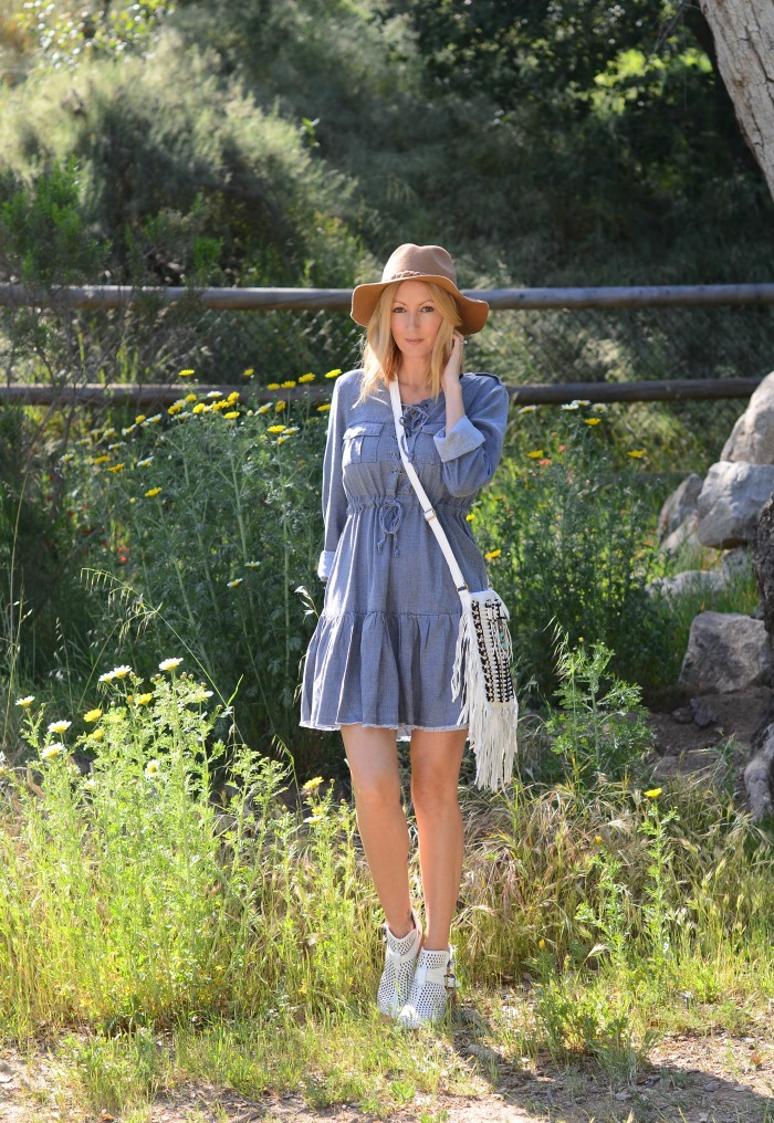 Some Days Lovin Chambray Dress