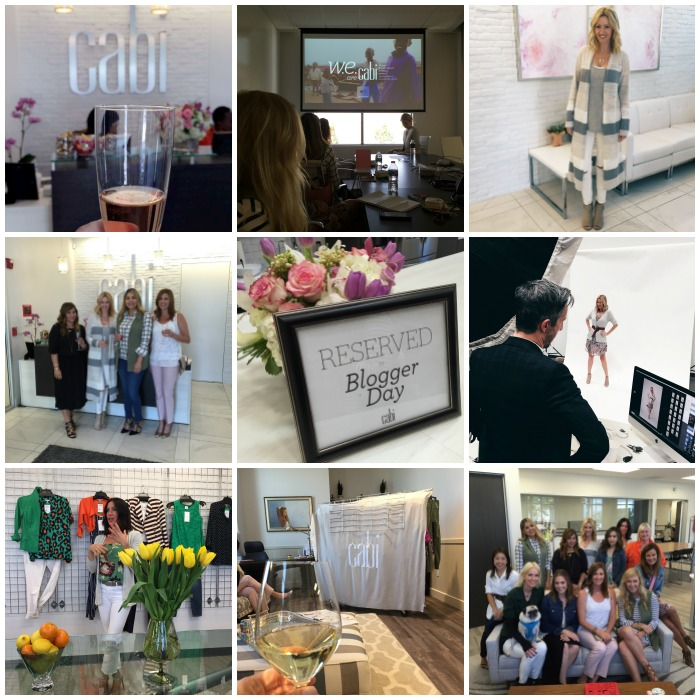 cabi Blogger Day Collage