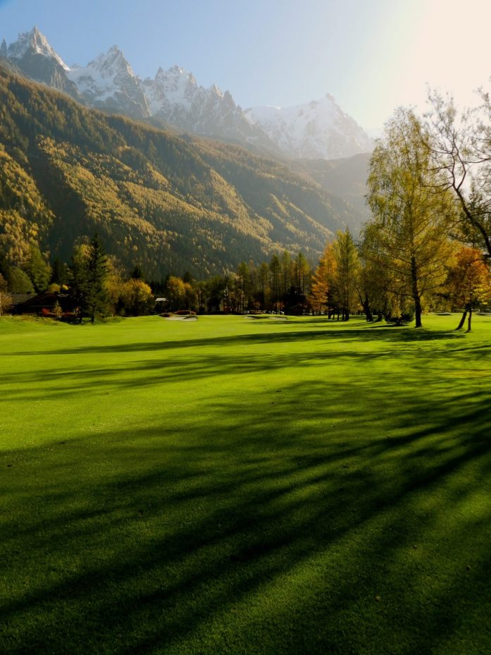9th Hole Chamonix Golf Course