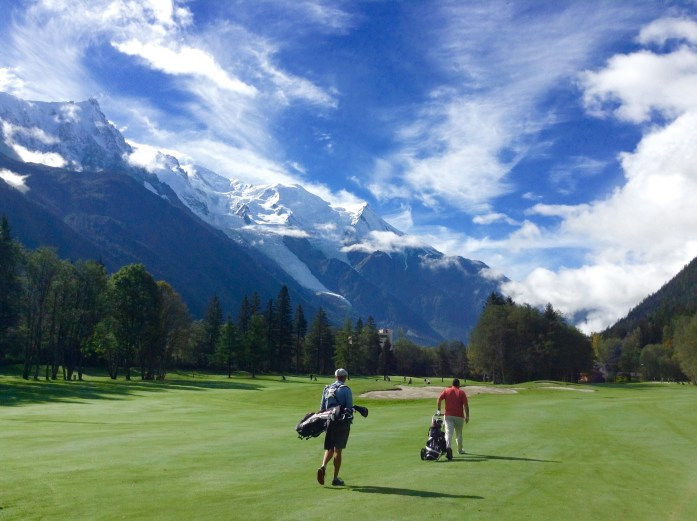 Walking Chamonix Golf Course