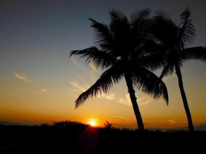 Sunset at Maui Nui Golf Course